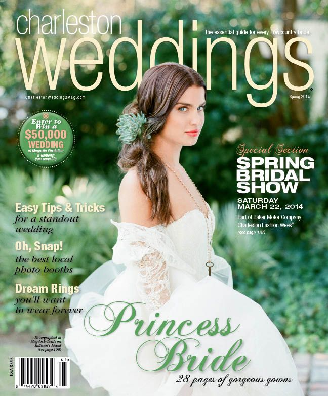 Charleston Weddings Spring 2014